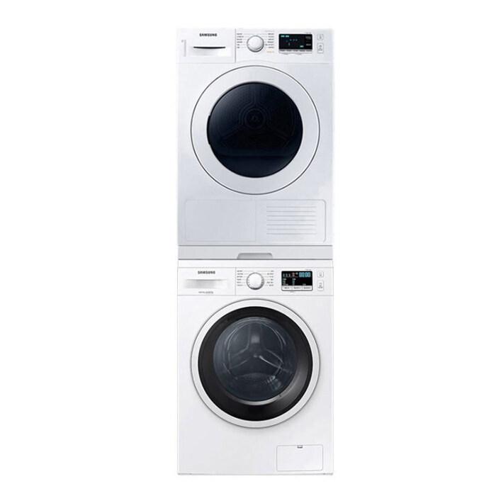[삼성] 드럼 세탁기 건조기 세트 9kg+9kg 화이트 WW90T3000KW+DV90T5440KW-8-5689373513