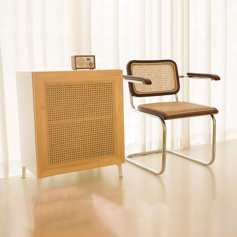 가구느낌 세스카암체어 인테리어 카페 라탄의자, 세스카암체어-월넛#