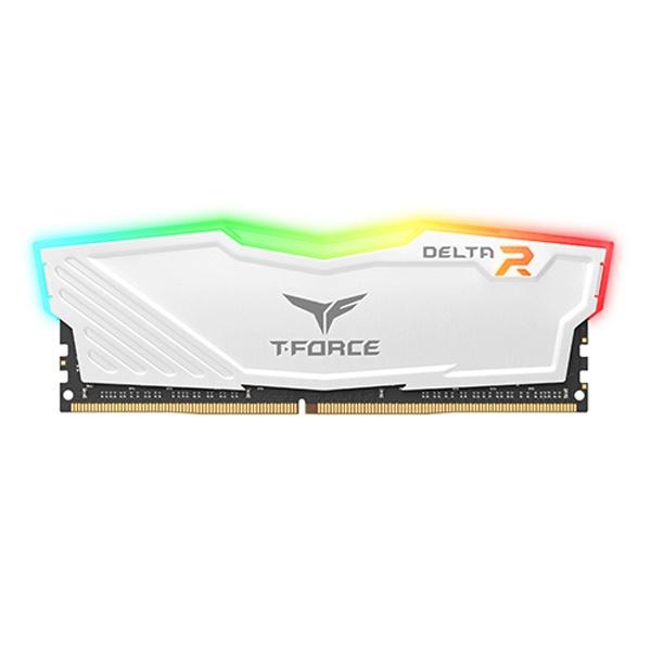 DDR4 8GB PC4-21300 RGB 화이트 고성능 메모리SD램, 단일상품