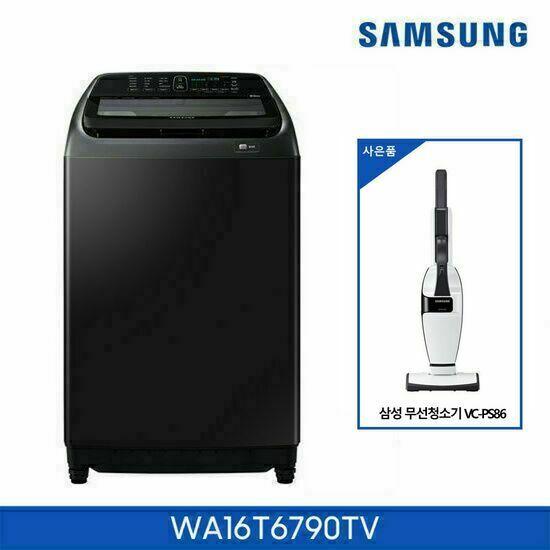 [삼성] 액티브워시 세탁기 16kg WA16T6790TV + 삼성 무선 청소기, 단품
