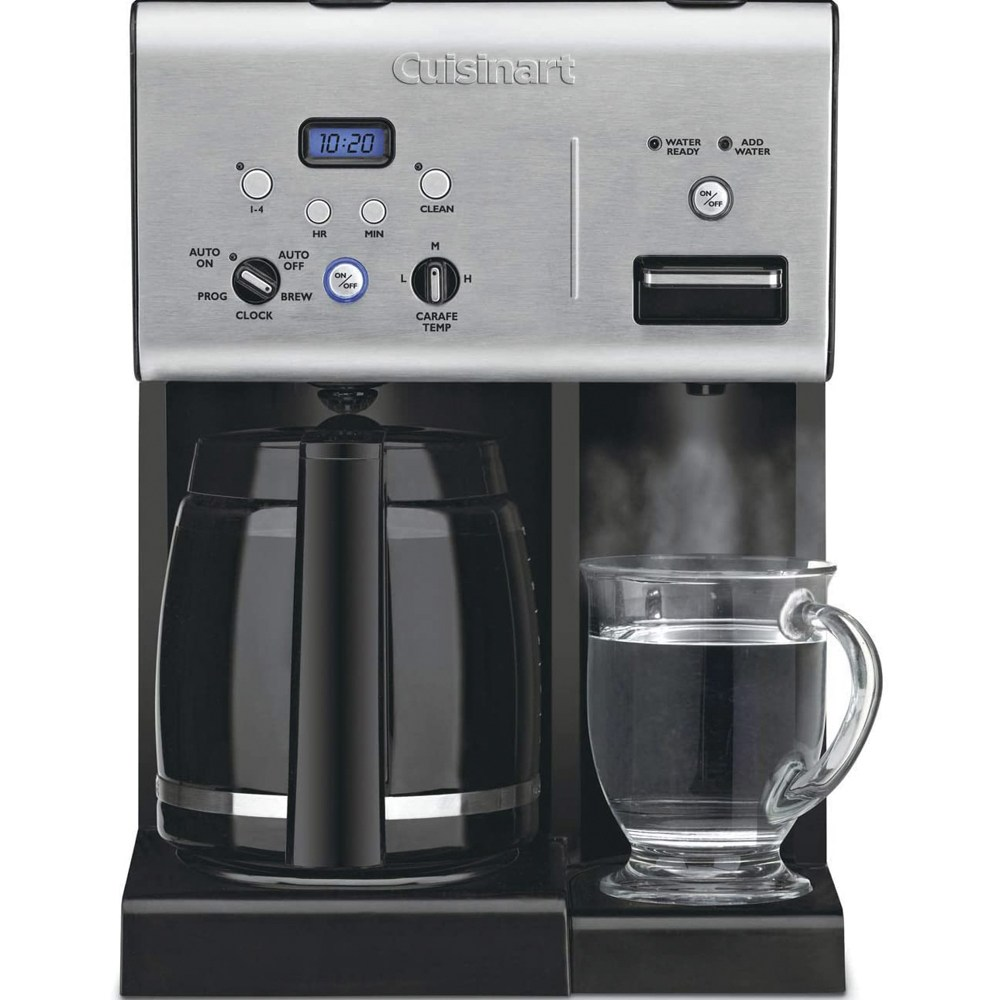 쿠진아트 12컵 설정가능 커피메이커 & 온수시스템, CHW-12P1