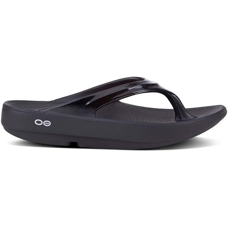 OOFOS 블랙 쪼리샌들 슬리퍼 one size (미국 정품 직구)