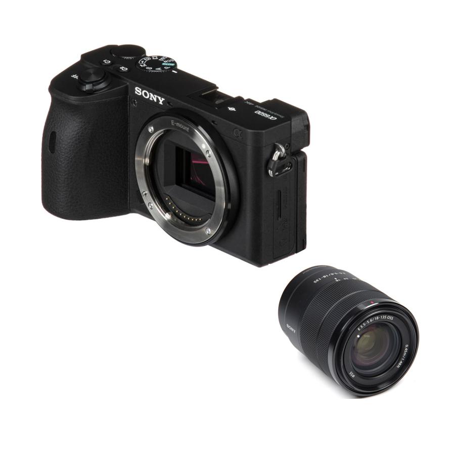 소니 A6600 미러리스카메라, 03.소니 정품 미러리스 카메라 A6600+E 18-135mm / 도우리