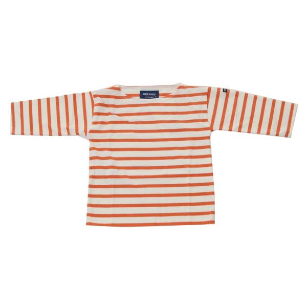 세인트제임스 밍콰이어 키즈 R A스트라이프 티셔츠(ECUR/POTTERY)