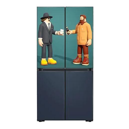 삼성전자 삼성 NS홈쇼핑 RF61R91C394 비스포크 키친핏 냉장고