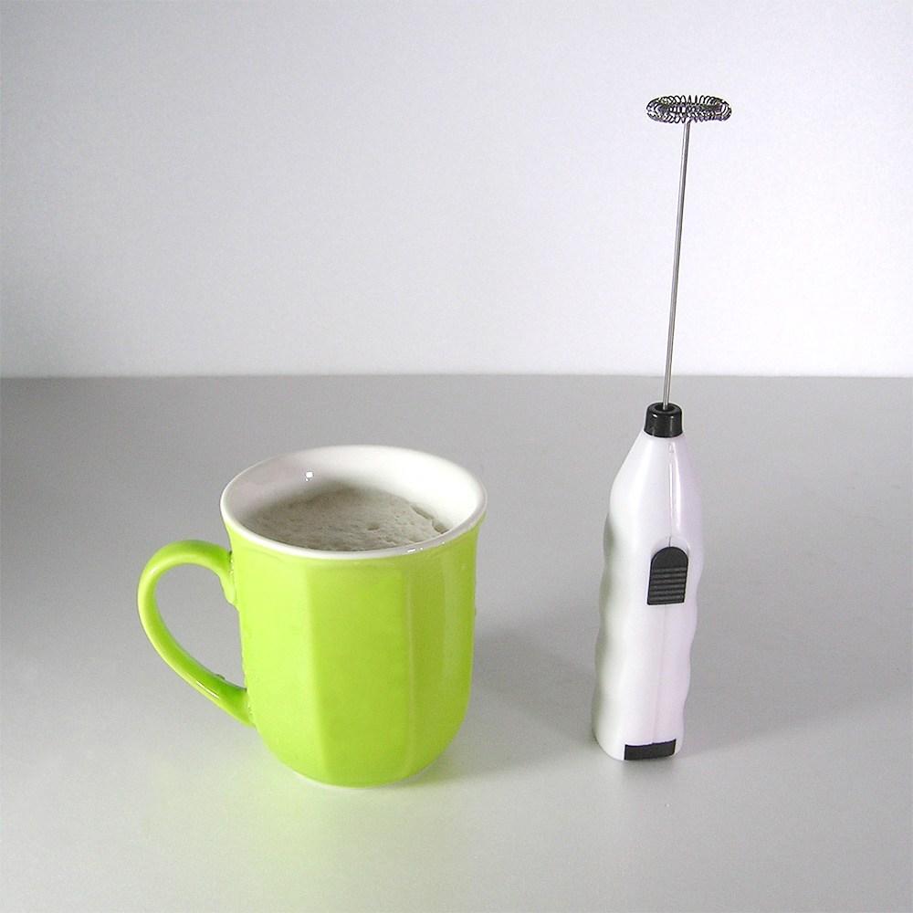 하비피플 달고나 방탄 커피 라떼 우유 전동 자동 미니 거품기 휘핑기 크리미 밀크포머 건전지포함, dgnmc01