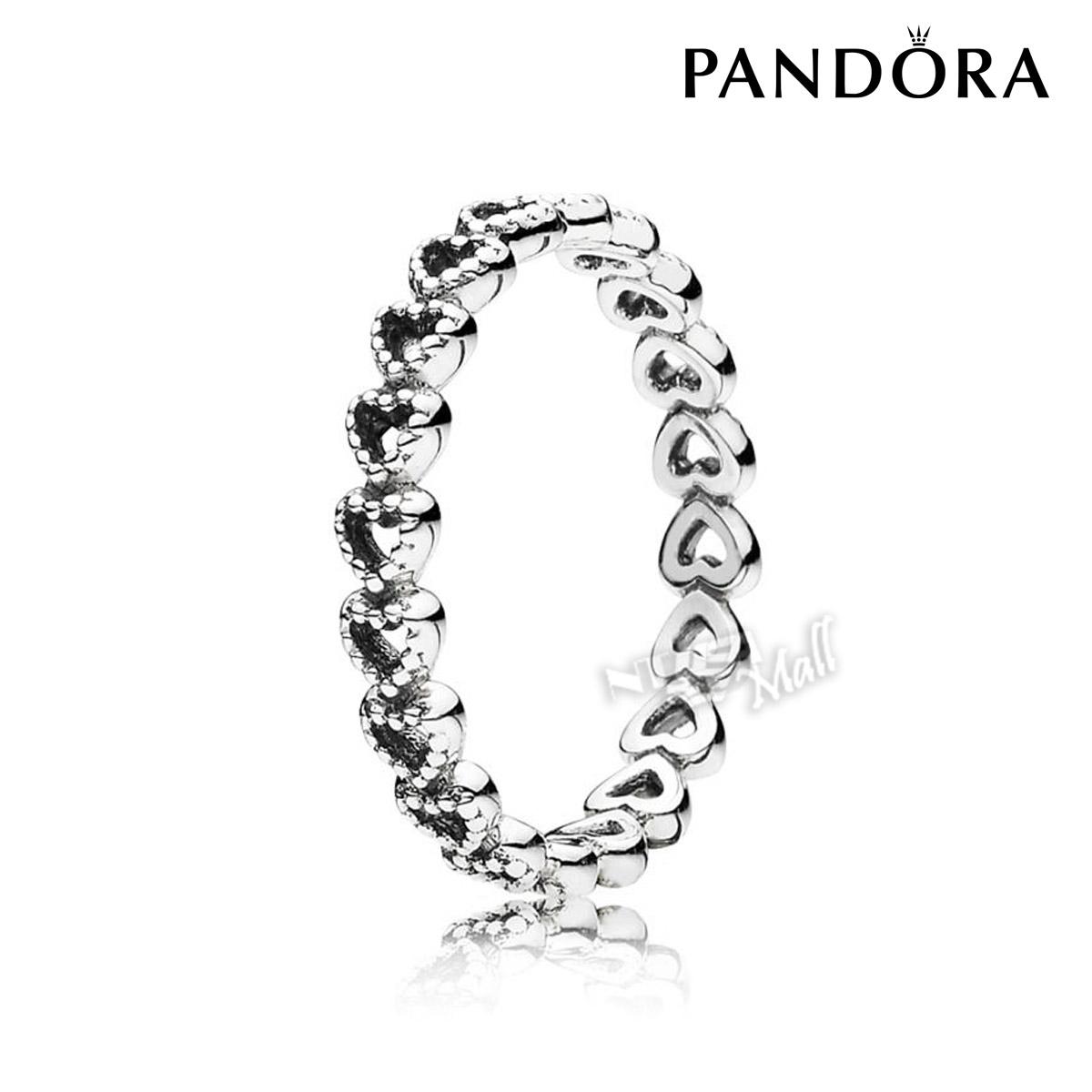 판도라 반지 PANDORA 190980 LINKED LOVE RING