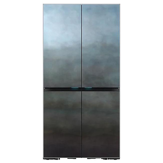 삼성전자 RF10T9965APS 셰프컬렉션 냉장고 900L 다크크롬 프레임 푸드쇼케이스 오토필 정수기, 혼드 네이비, 패밀리+쿡