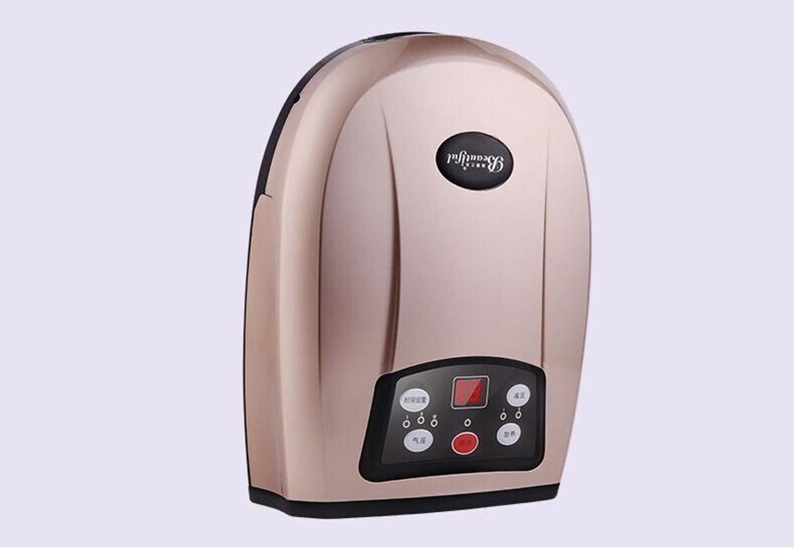 온열 손마사지기 손마사지 기계 손찜질기, 플러그인 골드 (POP 5335934947)