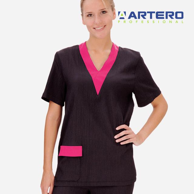 아테로 미용가운 여성용 유니폼 상의 W370