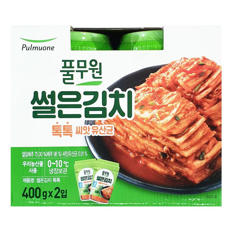 풀무원 톡톡썰은김치 400g x 2