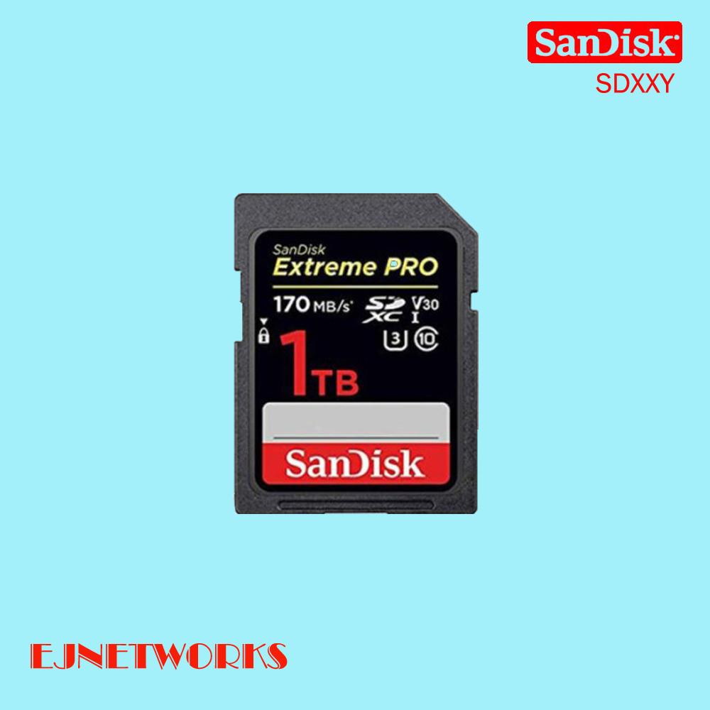 샌디스크 익스트림 프로 Class10 SD카드 SDXXY, 128GB