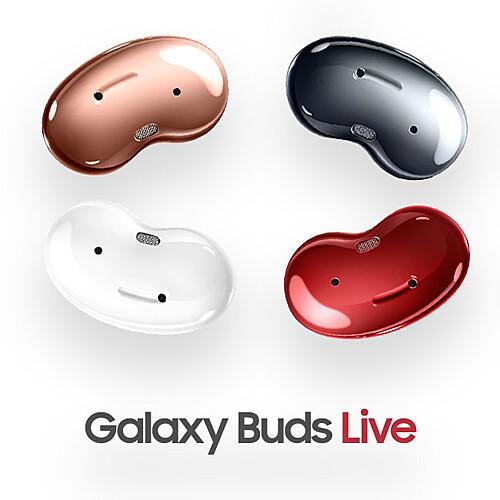 [SAMSUNG] 갤럭시 버즈 라이브 제니레드 / Galaxy Buds Live / SM-R180, 레드/단품