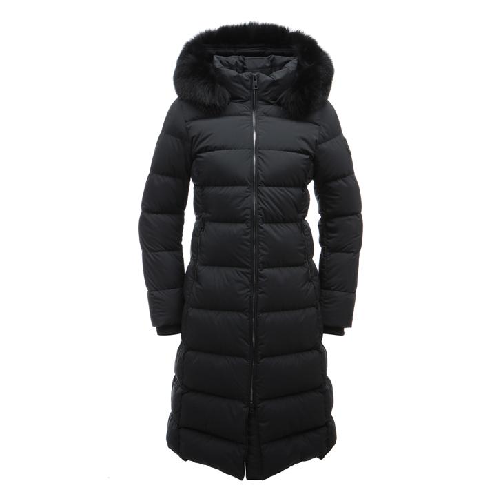 [매장정품] 무료배송!! ARIA 롱 (아리아 롱) 여성 다운 자켓 45mm 컬러블루폭스FUR