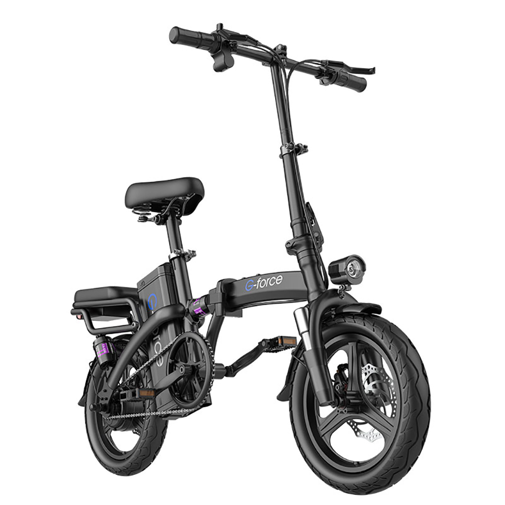 2020 G-FORCE 접이식 미니벨로 전기자전거 PAS 전동자전거 디스크 브레이크 2인용, 하이엔드(40-80km), 화이트