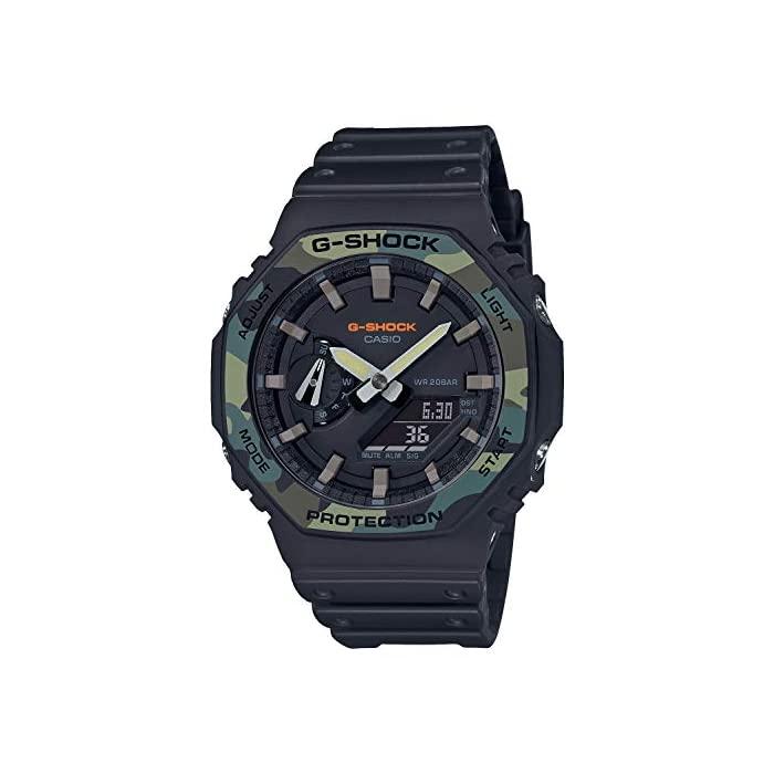 G - SHOCK (지샥) [카시오] 시계 지샥 유틸리티 컬러 카본 코어 가드 구조 GA-2100SU-1AJF 남성