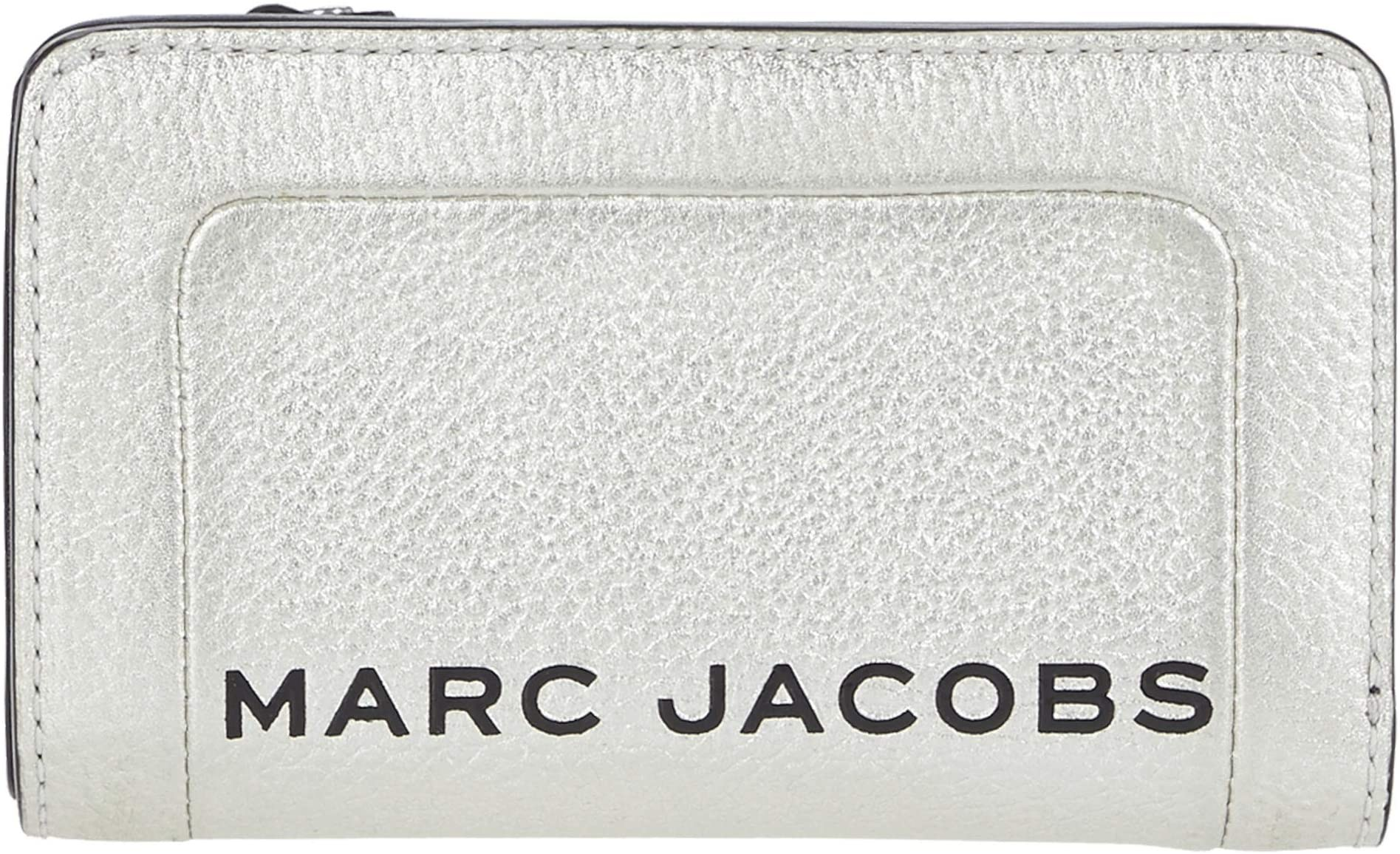 [해외제품] 여성 여자 지갑 Marc Jacobs The Metallic Textured Compact Wallet (마크 제이콥스 메탈릭 텍스처 컴팩트 지갑) -142447