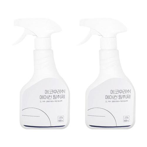 에코후레쉬 곰팡이균제거 히터겸용 에어컨탈취제 X2개, (에코)에어컨히터탈취제X2개
