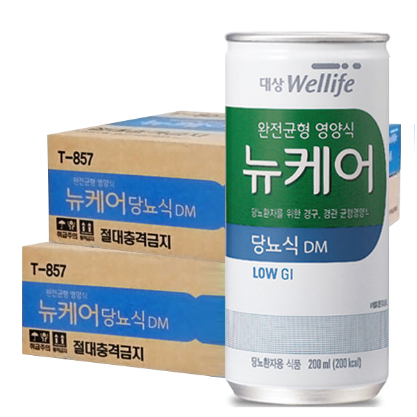 뉴케어 당뇨식 60캔 당뇨 환자 영양식, 2박스, 30