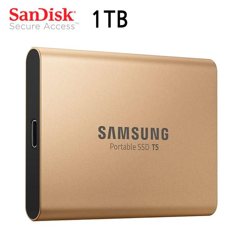 삼성 외장 SSD 포터블 T5 USB 3.1 (1TB) (골드)_156435EA, 상세페이지 참조, 상세페이지 참조 (POP 5736227921)