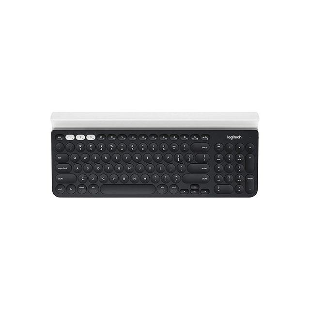 로지텍 K780 무선 스마트폰 타블렛 거치대 키보드, 단일색상, 단일상품