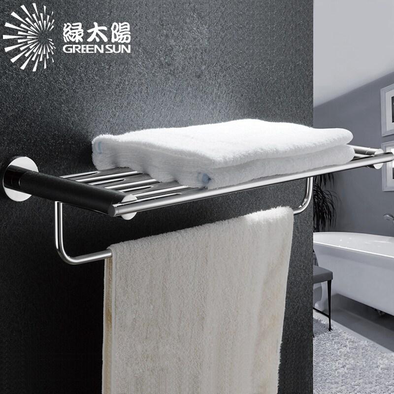 욕 수건 걸 이 이중 수건 걸 이 수건 대 두루마리 종이 프레임 싱글 레이 어 9320, 17428124542