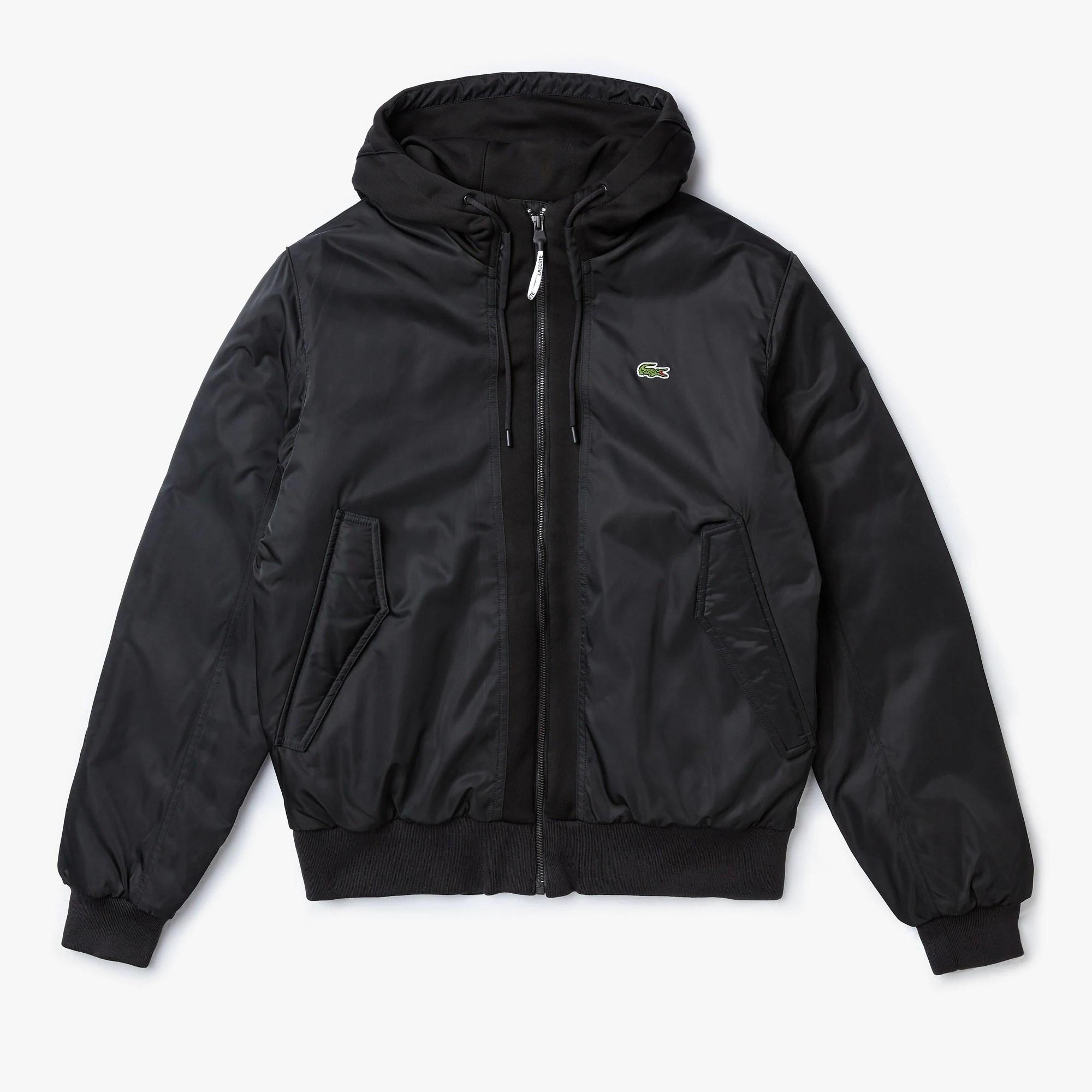 라코스테 Men's SPORT Water-Resistant Zip Jacket