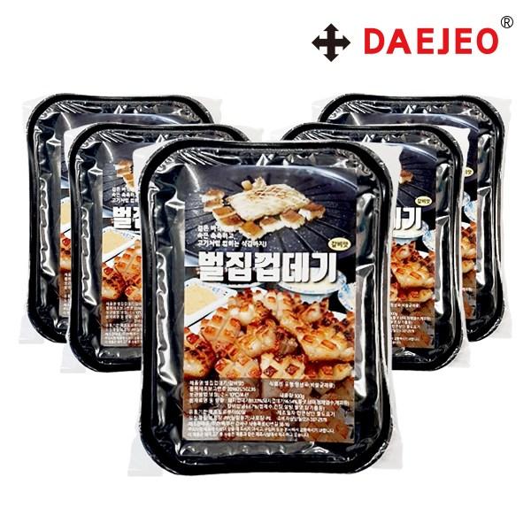 현백 냉장 벌집 돼지껍데기200g X5개 갈비맛 벌집껍데기, 단품