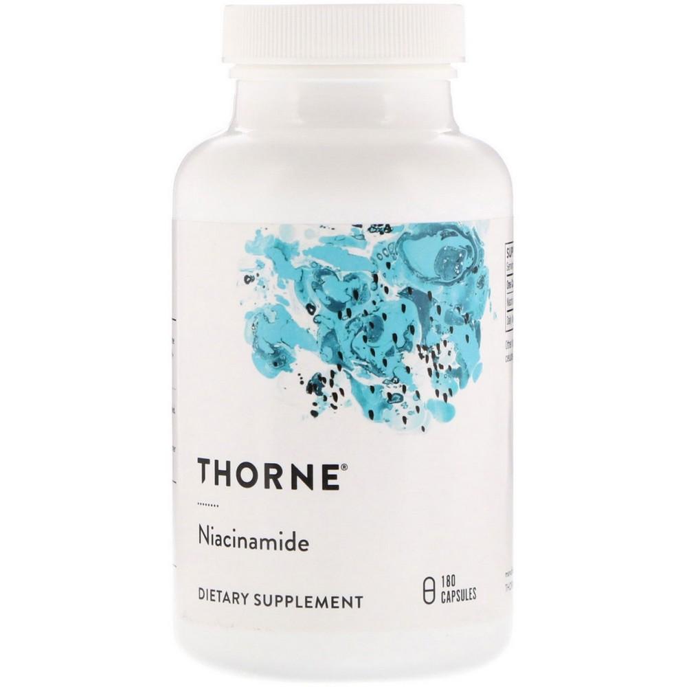 Thorne Research 니아신아미드정 180정, 선택, 상세설명참조