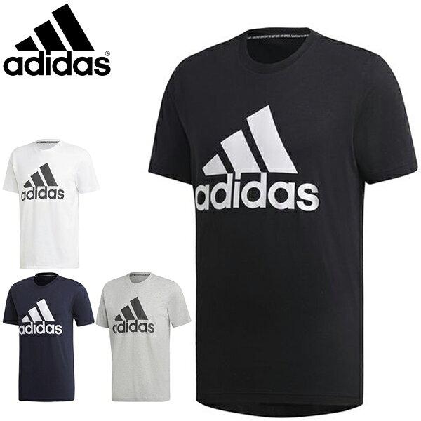 아 디 다스 m muthaves badge of sports 티셔츠 반팔 fsd 54 addaas 남성 트 레이 닝 복 2019 년 봄 여름