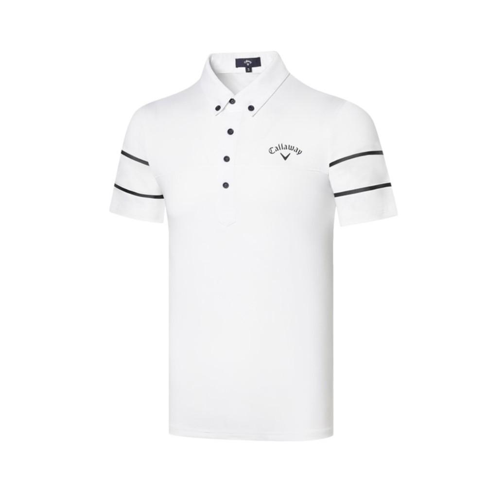 남성골프상의 캘러웨이 여름 남자 골프 웨어 상의 반팔 티셔츠 2020 CW2160