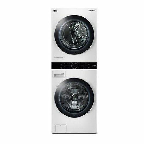 [신세계TV쇼핑][LG] 원바디 세탁건조기 TROMM 워시타워 W16WT, 단일상품