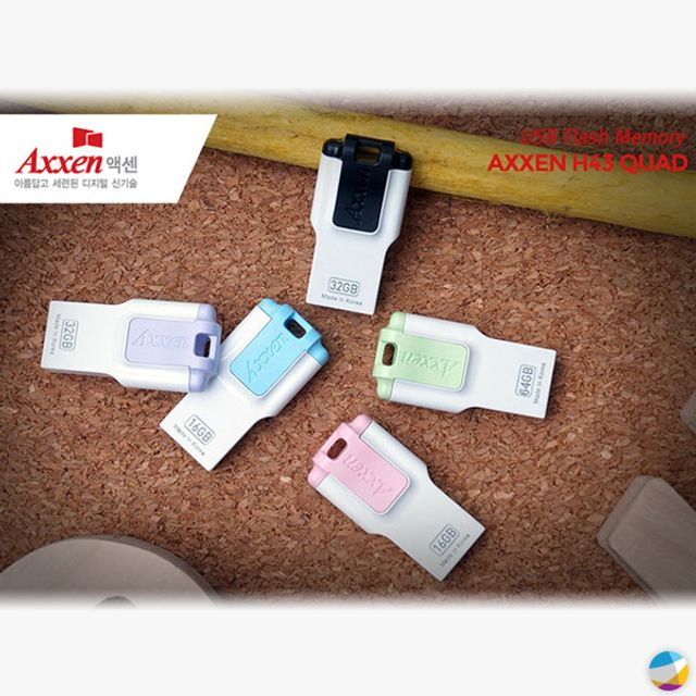 MoSe 16GB 32GB Axxen i-Passion H43 QUAD 스틱형 USB2.0-ZWQ4A7DDC, 옵션을확인해주세요 32GB