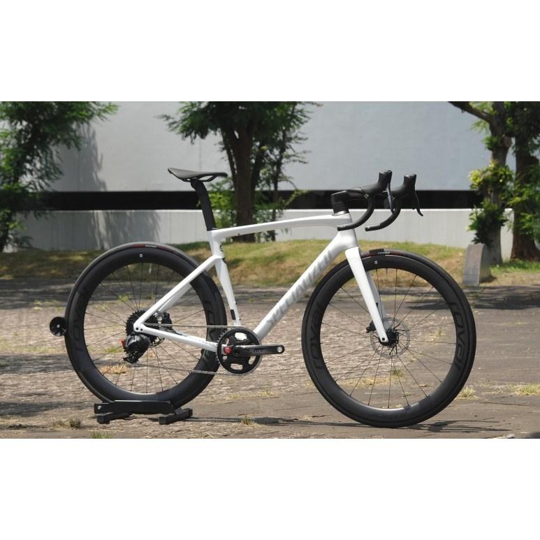 2021년 스페셜라이즈드 타막 SL7 프로 디스크 로드자전거 사이클 자전거 파워미터, 54, 베랑길 자전거 문의 (051-731-0024), Abalone/Spectraflair (화이트)