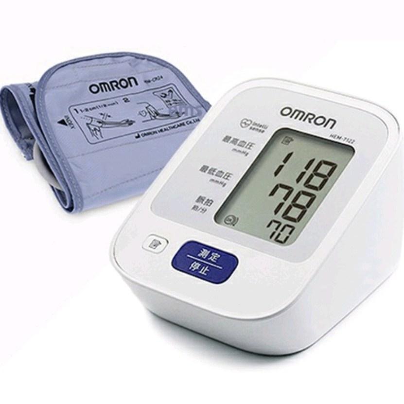 오므론 HEM-7122 혈압계, 1개, 오므론 7122