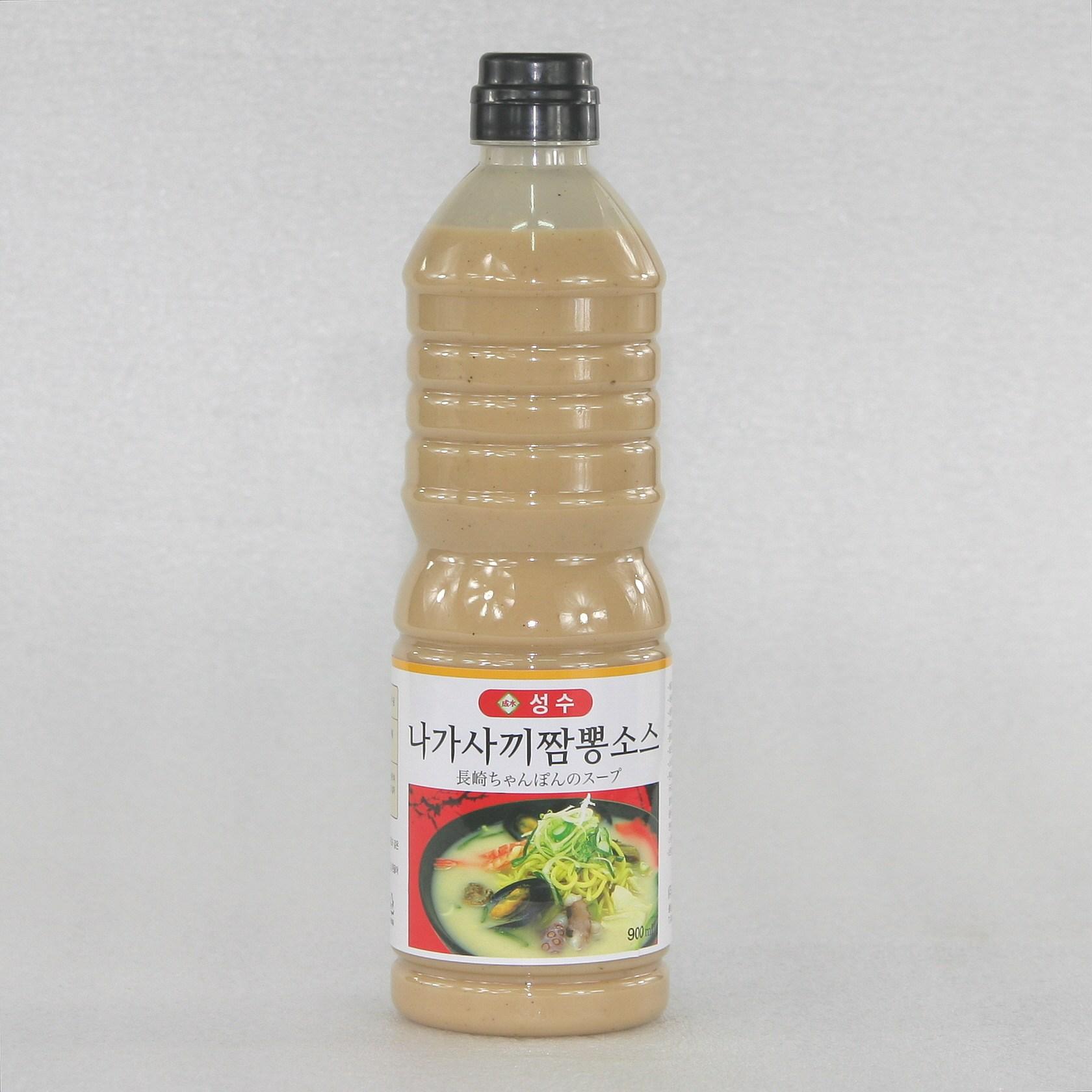 성수 나가사끼짬뽕 소스, 1개, 900ml