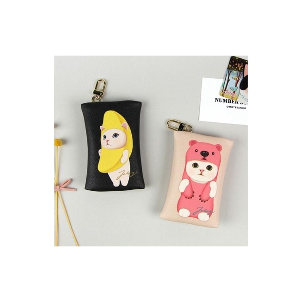 CHOO CARD DOLL 패션 지퍼형 지갑 카드