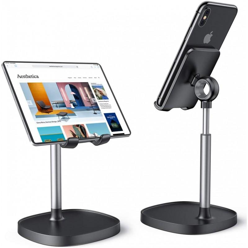 셀룰라 전화 대 책상 이동 전화 / iPad / Kindle / Tablet 4-8inch와 호환이되는 튼튼한 알루미늄 금, 1, 단일상품