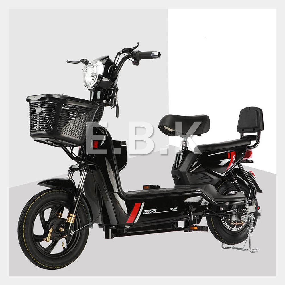 전기 자전거 2020 최신형 GX 2인용 48V 12A_20A 350W 전동스쿠터 납산 리튬배터리 주문즉시 공장출고 2일내선적 전동 스쿠터 모터 배터리1년보증 추가 배터리 구입가능, 블랙