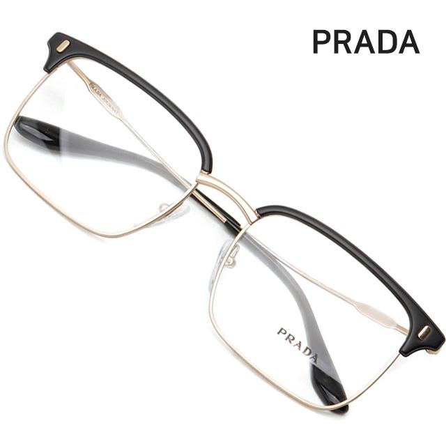 프라다 명품 안경테 VPR55V-2801O1 사각 하금테