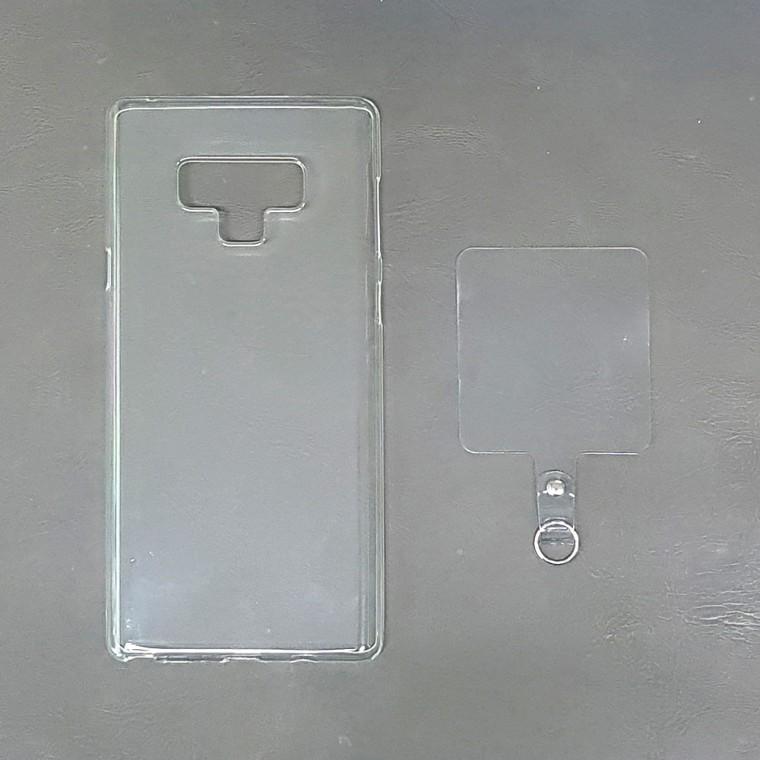 인씨네 스트랩젤리 범퍼 투명케이스 + 핸드스트랩 넥스트랩홀더 셋트(목줄 손목줄 별도 판매), 삼성/G965 (갤럭시 S9 플러스)