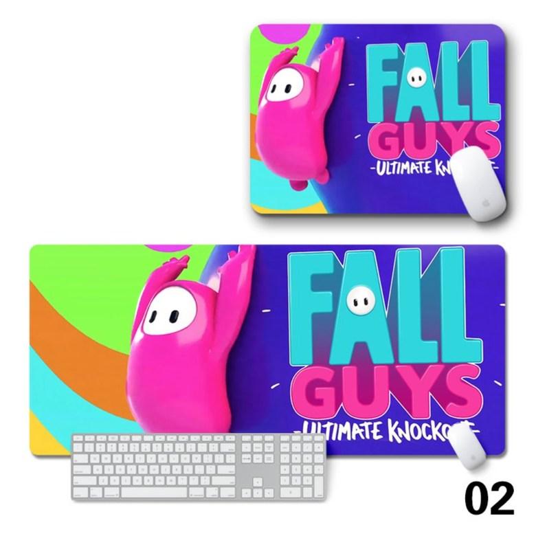 폴가이즈 Fall Guys 장패드 (마우스 패드 게임 테이블 매트 키보드 매트 고무 패드), 2 + 3mm + 900mm * 400mm