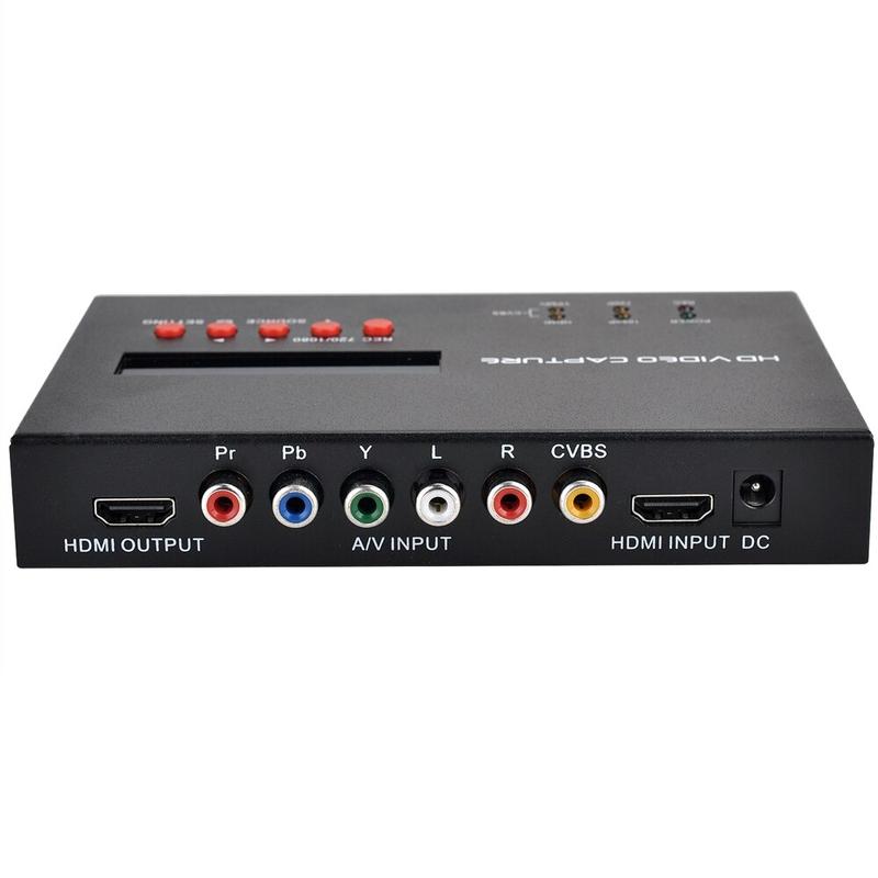 EzCAP283S 올인원 산업용 HD 레코더 1080P60P HDCAM 디지털 Betacam DVD 재생을 위해 HDMIAV 비디오를 HDMIUSB2.0으로 변환, 협동사