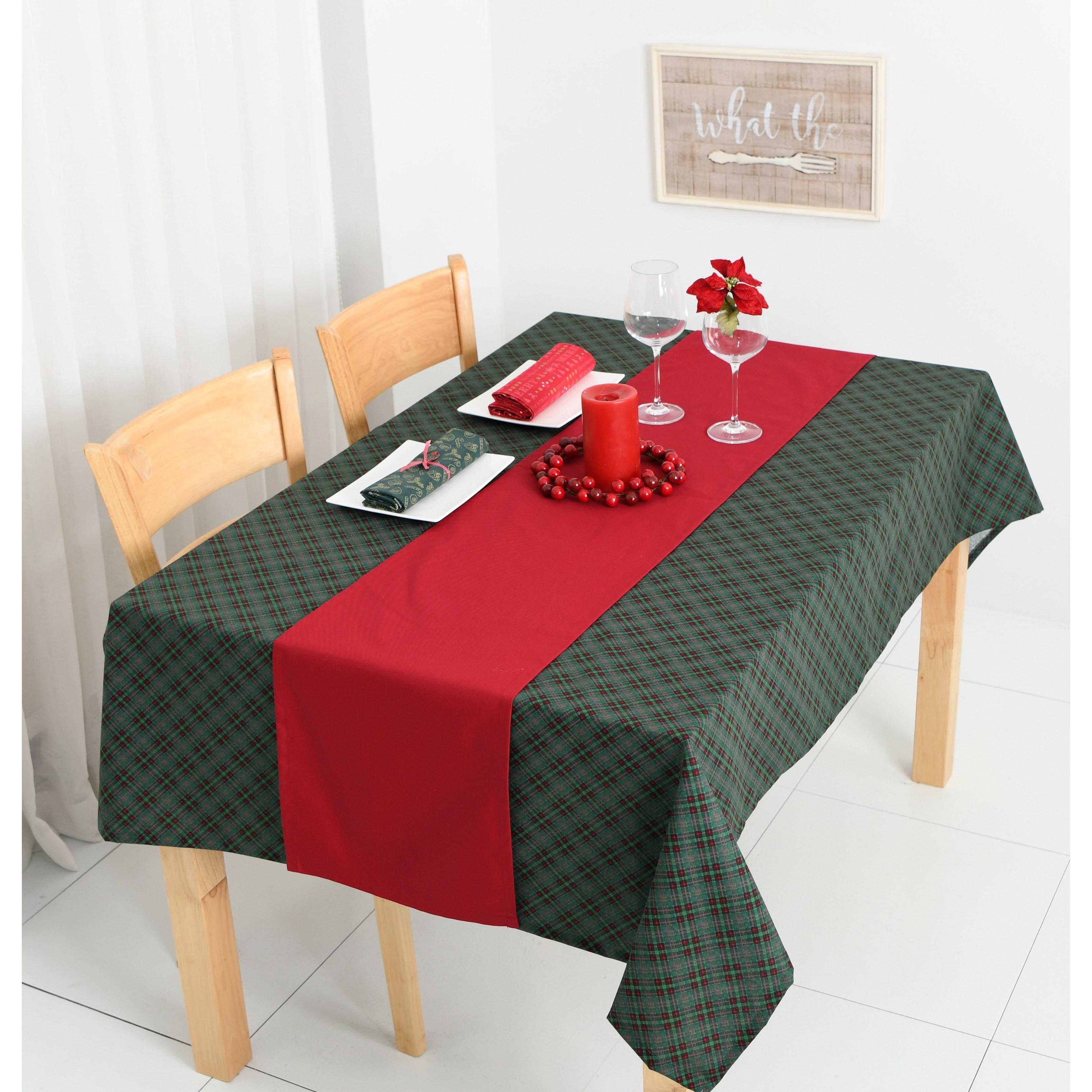 찬미디자인 크리스마스 식탁보+러너세트, X-mas. 22, 2인식탁보 130x108