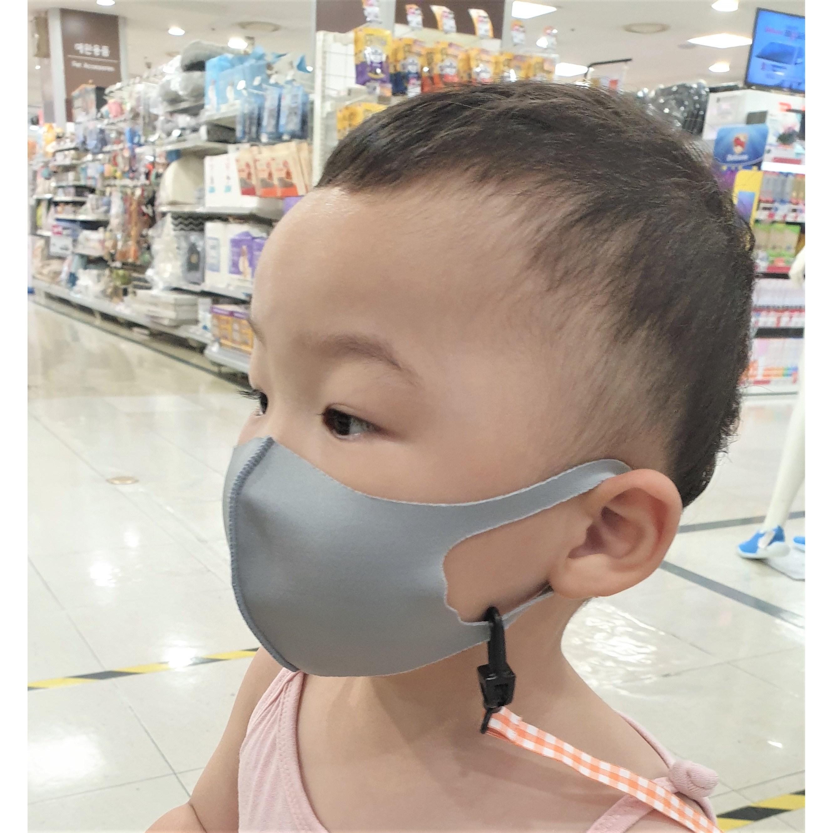 엄마가찾는 국내산 초소형 3D입체 세부리형 돌아기 유아 이쁜마스크 숨쉬기편안한 핑크마스크