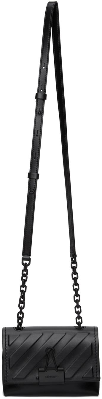 Black Soft Diag Binder Clip Bag-SC5627691