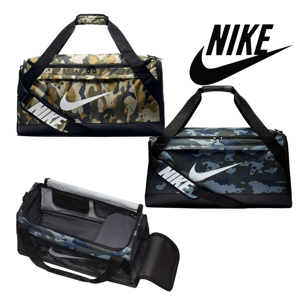 [미국] 나이키 더플백 브라질리아 미디엄 카모 Nike Brasilia M Camo Duffle Bag, NAVY CAMO