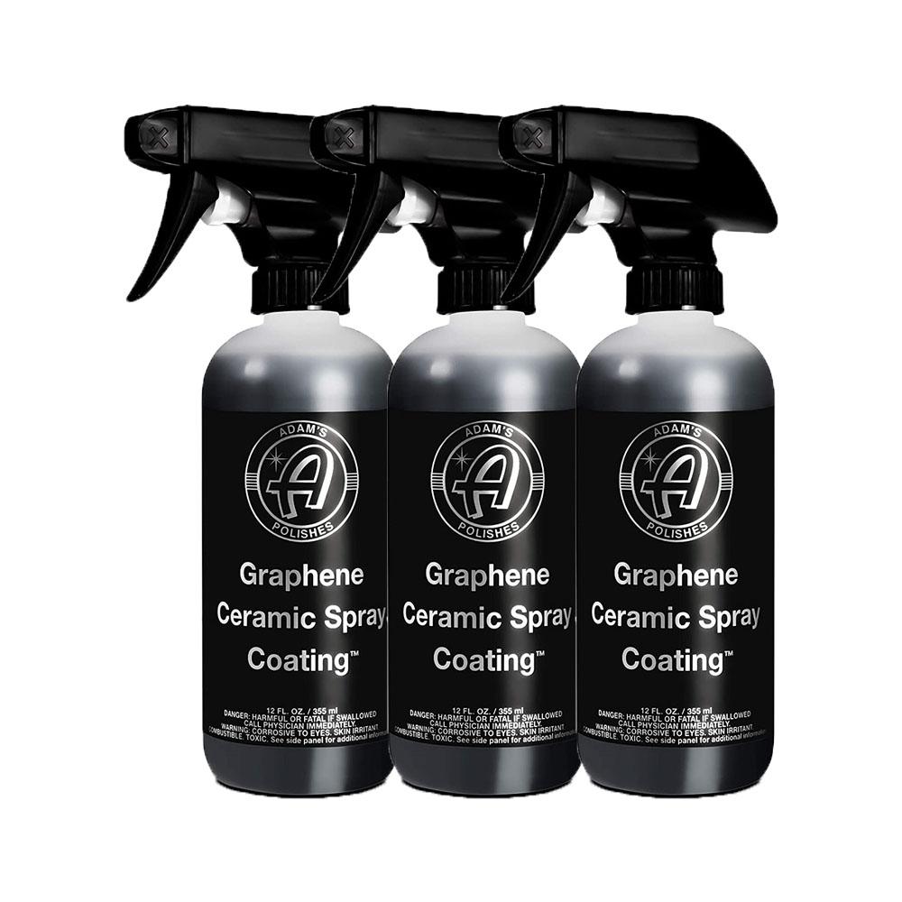 Adams 아담스 그래핀코팅제 Graphene Ceramic Spray Coating 355ml 3개