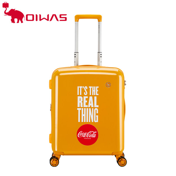 코카콜라캐리어 OIWAS coca-cola 공동디자인 패션캐리어