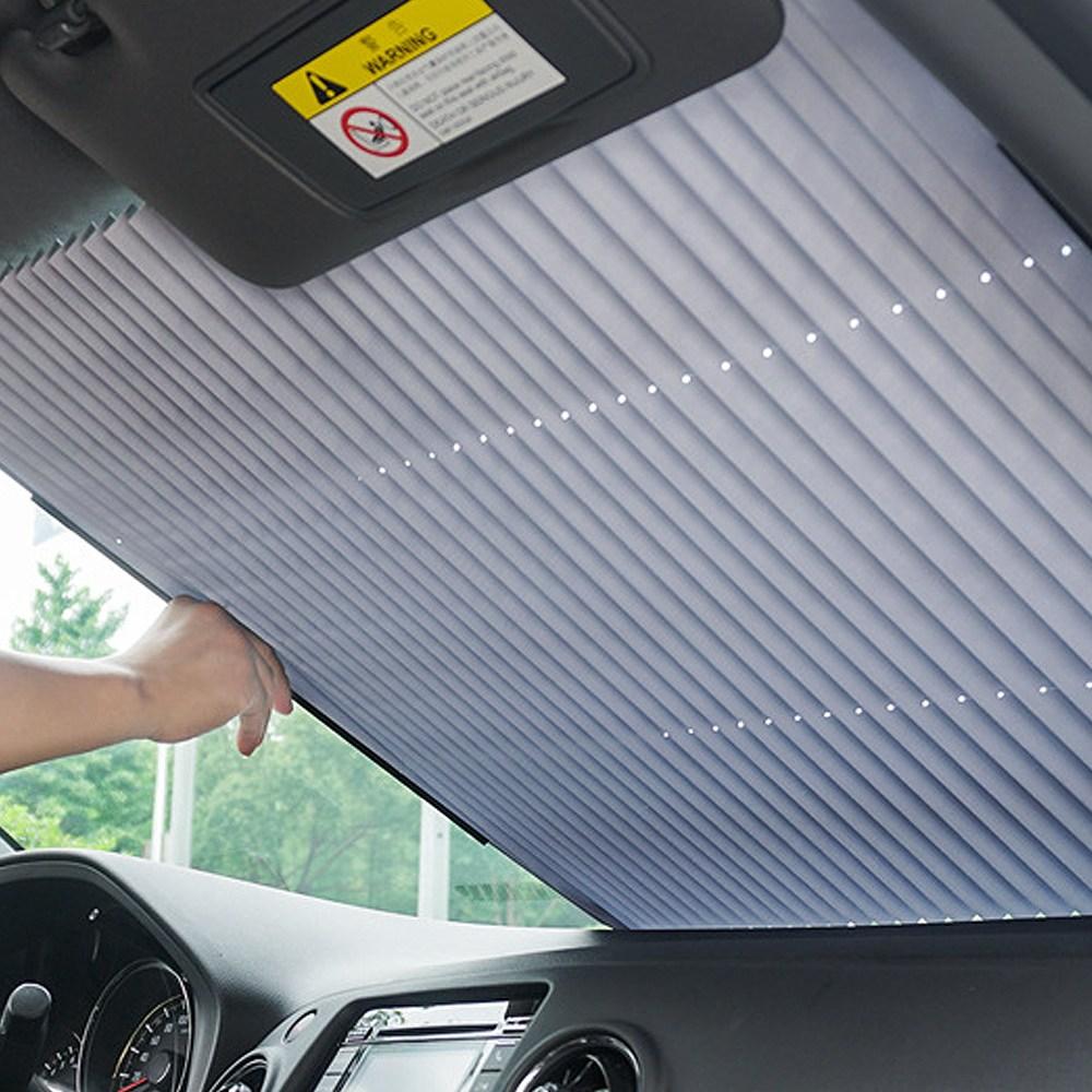 소소일상 차량용 햇빛가리개 앞유리 자동차 커버, 1개